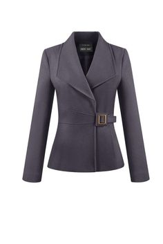 Saco Look Fashion, Winter Fashion, Fashion Outfits, Fashion Design, Suits For Women, Jackets For Women, Tailored Jacket, Work Wardrobe, Business Attire
