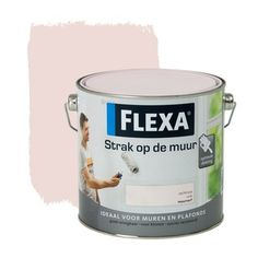 Flexa Strak op de Muur muurverf zachtroze 2,5 l   Muurverf kleur   Muurverf   Verf & verfbenodigdheden   KARWEI