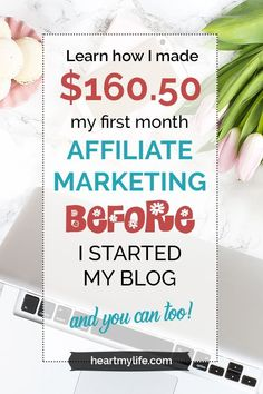 I wanted to earn some money from home and I decided to try out some affiliate marketing techniques I'd read about. When I finally got around to actually doing it, I ended up earning $90 my first week. I went on to earn over $160 that month. All this was b