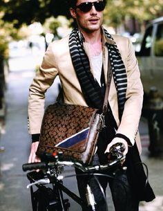 allaboutmenswear: Fashion on wheels