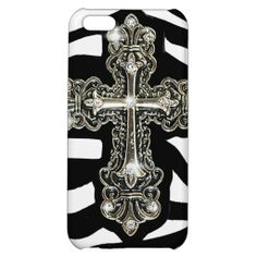 Leather and Cross iPhone 5C Cover
