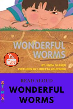 """Wonderful Worms"" is a great introductory science books about worms. This version of ""Wonderful Worms"" was written by Linda Glaser and illustrated by Loretta Krupinski and published by the Millbrook Press in 1992. The end of this video has some live worm footage! #stemhax #PreK #Kindergarten #1stgrqade #YouTube  #worms #stem #homeschool #distnacelearning #teachers Science Resources, Science Books, Teaching Activities, Reading Resources, Science Lessons, Lessons For Kids, Teaching Science, Reading Lists, Elementary Science Classroom"