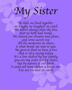 265 Best Sister Love For Lori I Miss You Everyday Images In 2019