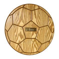 This Soccer Ball Medal Display comes with FREE Engraving. Soccer Room, Kids Soccer, Soccer Ball, Trophy Display, Display Shelves, Display Ideas, Sports Medals, Medal Holders, Wood Crafts