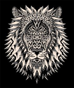 Stunning - Raja of the Jungle by BioWorkZ via Ornate Collection 2012-2013 on Behance