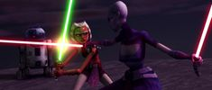 Notable light sabers & other weapons in TCW (spoilers)