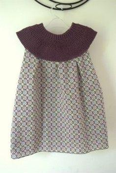 tuto robe tricot-tissu