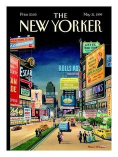 The New Yorker Cover - May 31, 1999 - New Yorker Cover Quiz