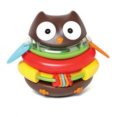 For Ages 0-3: Rocking Owl Stacker