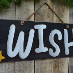 🎆 WISH Christmas sign 🎆