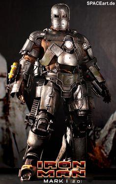 Iron Man: Mark I (2.0) - Deluxe Figur, Fertig-Modell ... http://spaceart.de/produkte/irm015.php