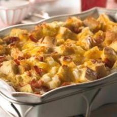 Christmas Breakfast Bacon & Hashbrown Crockpot