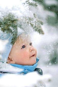 Canadian winter child