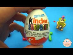 Disney Pixar Cars Kinder Surprise Egg Learn-A-Word! Lesson 'E'