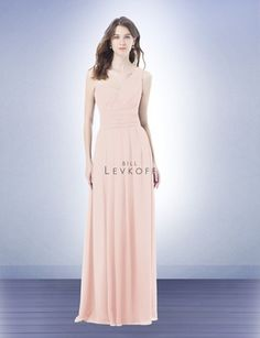 Bridesmaid Dress Style 491 - Bridesmaid Dresses by Bill Levkoff Colors: Champagne or Petal Pink