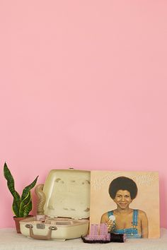 New Works - Nakeya B.  Staging beauty through material products and by-products created between the 70s & 80s. Re-imagining a black feminist identity without the physical presence the body.