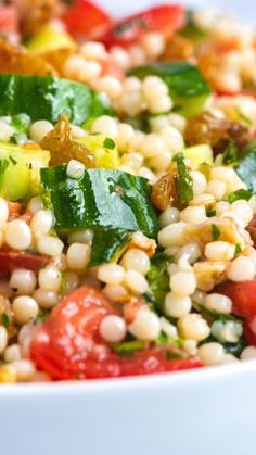 Healthy Eating Recipes, Healthy Dishes, Vegetarian Recipes, Cooking Recipes, Healthy Recipe Videos, Couscous Salad Recipes, Salad Dressing Recipes, Chicharrones, Food Tasting