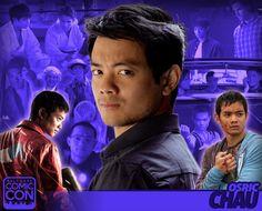 *PIN to WIN* Meet actor Osric Chau at #SLCC16! Kevin Tran in Supernatural, Halo 4: Forward Unto Dawn, and more! #utah