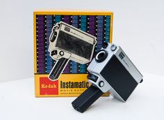 Kodak Instamatic M24 Movie Camera - Super 8 Super 8 Camera, Super 8 Film, Aperture Settings, Rangefinder Camera, In The Hole, Movie Camera, Nightmare On Elm Street, Vintage Cameras, Vintage Movies