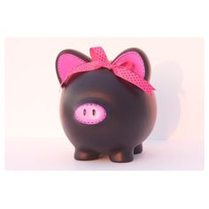 LARGE Pink Chalkboard Piggy Bank Real Chalkboard by SamselDesigns This Little Piggy, Little Pigs, Wooden Piggy Bank, Pig Bank, Penny Bank, Small Drawings, Cute Piggies, Pig Party, Flying Pig