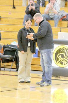 Hayward High School Athletic Trainer Honored