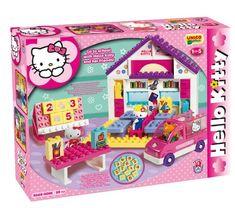 Ecole hello kitty - briques - jeu de construction UNICO PLUS