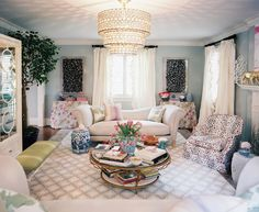Madcap Cottage     The above Palm Beach Chic loveliness is from the entertaining & colorific team of John Loecke & Jason Nixon of Madcap C...