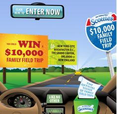 Win a $10,000 Family Field Trip with Scotties