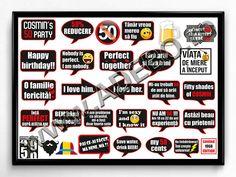 Site-ul www.Adebo.ro va ofera acum posibilitatea de a cumpara online Propsuri Petrecere 50 Ani, Propsuri aniversare, Propsuri pentru zile de nastere personalizate cu mesajele dvs., Propsuri 50 ani, Propsuri 20 ani, Propsuri 30 ani, Propsuri 40 ani, Propsuri colorate cu mesaje, Propsuri cinema, Propsuri nunta, Propsuri botez, Propsuri Photobooth, Propsuri Photocorner, Propsuri Party, Propsuri Petreceri, Propsuri Funny, Propsuri Haioase, Propsuri personalizate, Propsuri cu mesaje pentru nunta .. Fifty Shades, 50 Shades