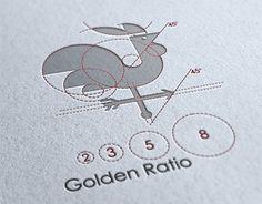 logo used golden ratio Web Design, Icon Design, Gold Ratio, Golden Ratio In Design, Logo Process, Portfolio Logo, Logo Creation, Circle Logos, Logo Concept
