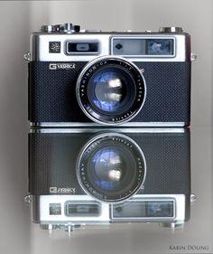Der zweite Fotoapparat, den ich besaß: Yashica Electro 35