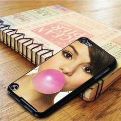 Selena Gomez Bibble Gum Singer Idol iPod 5 Touch Case