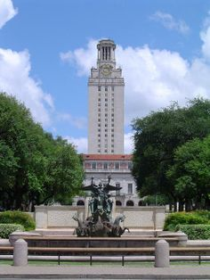 University of Texas - my favorite spot on campus!