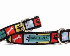 """CinemaDOGraphy Dog Collar   3/4"""" and 1"""" Collar for Small to Large Dogs"""