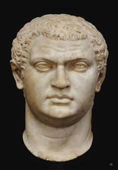 Presumed portrait head of the Roman emperor Geta brother to Caracalla. Roman Sculpture, Sculpture Art, Ancient Rome, Ancient History, Roman Man, Art Romain, Roman Characters, Rome Antique, Roman History