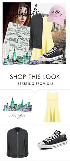 """Hey There Delilah"" by alienatedbanana ❤ liked on Polyvore featuring Toni&Guy, Boohoo, Wildfox, Converse and Steve Madden"
