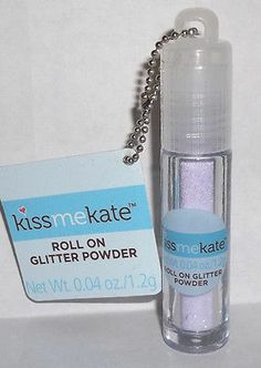 KISS Me KATE Roll On GLITTER POWDER 1 Cent PENNY Holiday HUGE SALE - FREE SHIP -can be found right now on eBay at ThenAndAgainTreasures