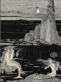 """Harry Clarke,""""The little Mermaid"""""""