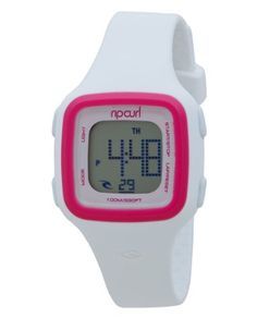 Rip Curl Women's A2466G - WPK Candy White Pink Digital Watch