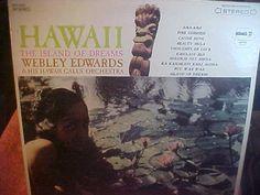 Hawaii Island of Dreams Webley Edwards NM- 3062 Vinyl LP Record vintage 60s
