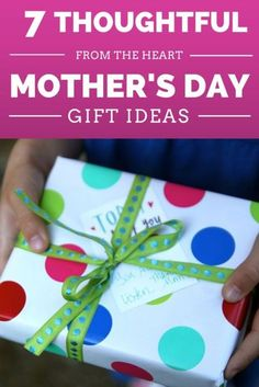 Mother's Day is one of those holidays where we just really want our mothers to feel loved, but it can sometimes be hard to find that perfect gift that combines thoughtfulness and something she'll actually use and enjoy. Sometimes the perfect gift isn't a 'thing' at all, and simple thoughtfulness and appreciation is really all she is looking for. Read on as eBay shares 7 Mother's Day gifts straight from the heart, and sure to please!