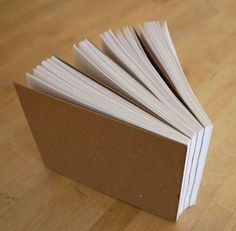 Make your own notepads. #tutorial