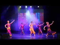 Apsara Indian semiclassical dance Mangalam Ganesham - YouTube