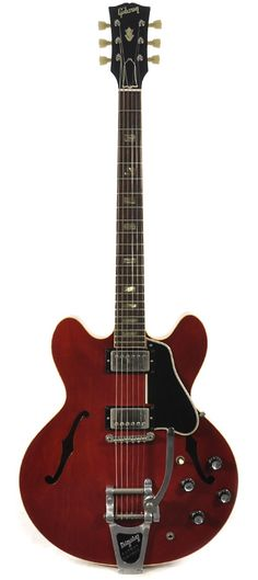 GIBSON ES-335 with Bigsby Cherry Red 1964 | Chicago Music Exchange