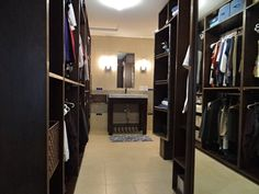 Walk In Closet Laundry Room Combo