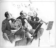 LA PETAUDIERE 21/06/17 au solstice d'été-fête de la musique !The Humorous Musical Drawings of Claude Serre