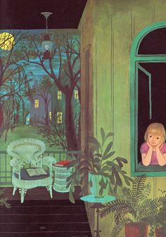 In the Middle of the Night - Aileen Fisher, Adrienne Adams, Thomas Crowell, 1965