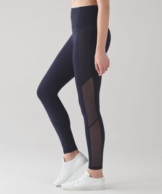 Sweat in comfort—these   breathable tights have   strategically placed seams to   reduce chafing.