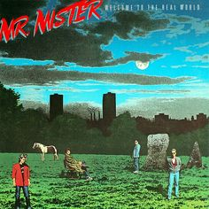 Mr. Mister Welcome To The Real World - vinyl LP