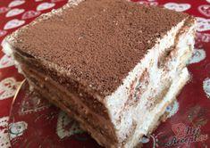 Krémový čoko dort s mascarpone Tiramisu, Rum, Ethnic Recipes, Cheesecake, Food, Pastries, Drinks, Mascarpone, Cheesecake Cake